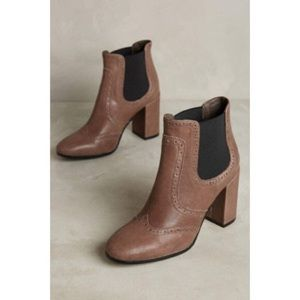 Anthropologie City Stomper Ankle Booties NWT